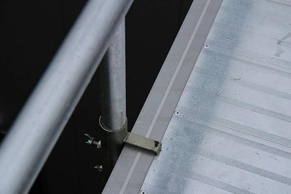 Anclaje ASC pasarela aluminio