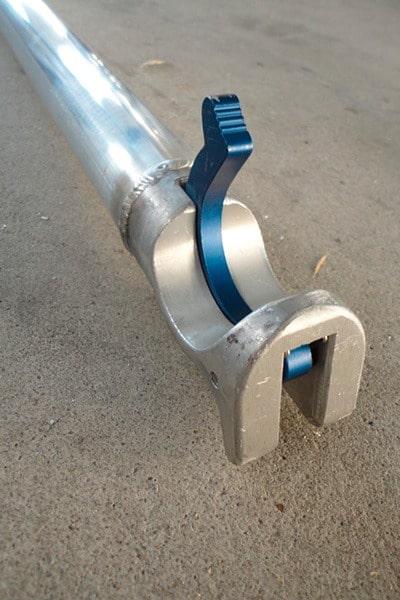 Estabilizador azul torre móvil