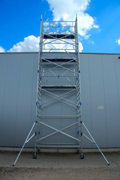 Prevención y protección torres móviles de aluminio
