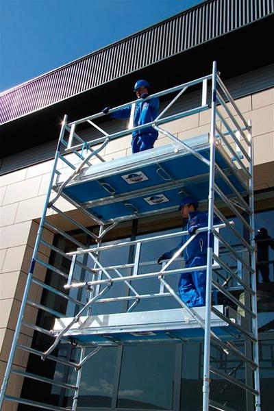 Por qué escoger andamios de aluminio de Asc Spain